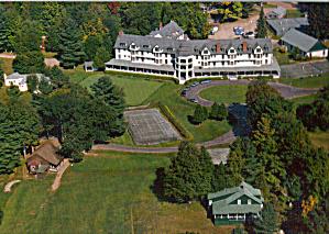 Ausable Club St Huberts New York Postcard cs8056 (Image1)