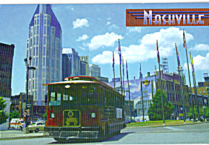 Nashville Tennessee Trolley At Riverfront Park Cs8061