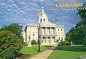 Concord, New Hampshire, State Capitol (Image1)