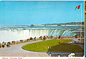 View of Niagara Falls from Queen Victoria Park (Image1)
