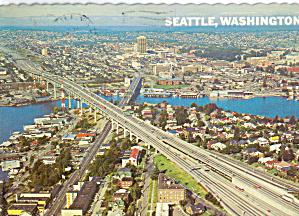 Seattle, Washington, I-5 Freeway Bridge (Image1)