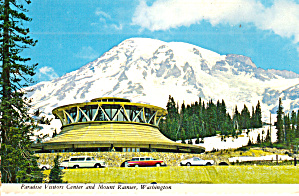 Mt Rainier Washington Paradise Visitors Center Cs8095