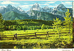 Teton Range, Grand Teton National Park, Wyoming (Image1)