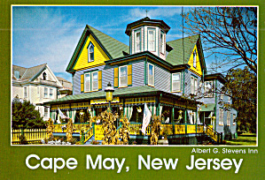 Cape May, New Jersey, The Albert G. Stevens Inn (Image1)
