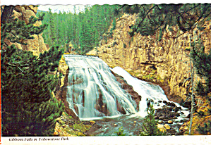 Gibbons Falls in Yellowstone National Park (Image1)