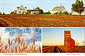 Farming In Saskatchewan Canada Cs8144