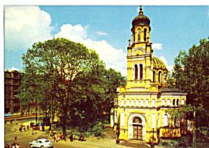 Lodz Poland  View of  a Church cs8160 (Image1)