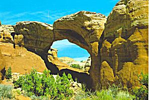 Broken Arch Arches National Park Utah cs8172 (Image1)