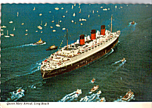 Long Beach California Arrival of the Queen Mary cs8178 (Image1)