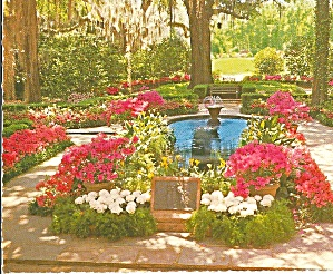 Bellingrath Gardens Mobile Alabama Postcard Cs8185