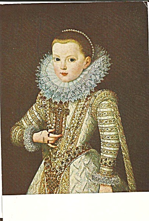 Portrait of the Infant Isabella,Bartolome Gonzalez (Image1)
