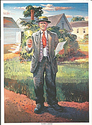 Town Crier, by Don Albens (Image1)