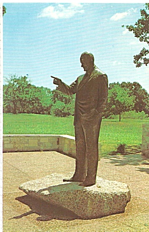 Lyndon B Johnson Statute Stonewall Texas Cs8219