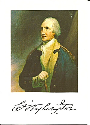 George Washington Painting By Robert Edgar Pine Cs8220