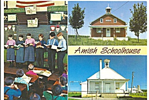 Amish One Room Schoolhouse Amish Country cs8234 (Image1)