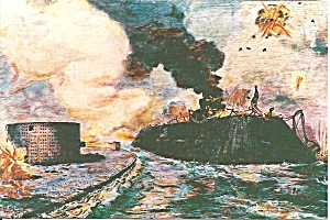 Battle of The Monitor and The Merrimack cs8238 (Image1)