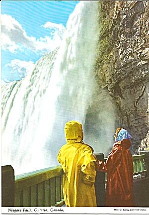 Niagara Falls Table Rock House Lookout Postcard Cs8240