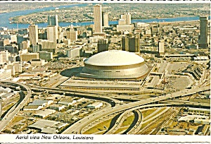 New Orleans Louisiana  Superdome Aerial View cs8261 (Image1)