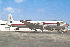 Dc-6bf Aesa Airlines Cs8266