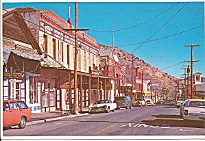 Virginia City Nevada Street Scene On C Street Cs8283