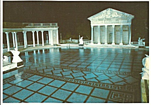 Hearst Castle California Neptune Pool At Night Cs8284
