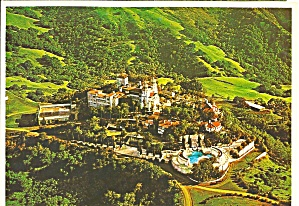 Hearst Castle California Aerial View Castle And Grounds Cs8295