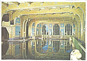 Hearst Castle California Roman Pool Interior Cs8296