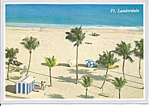 Ft Lauderdale Florida Beach Scene Cs8306