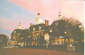 Epcot Center American Adventure Cs8318
