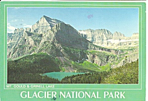 Glacier National Park Mt Gould And Grinnell Lake Co Cs8327