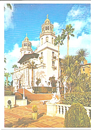 Hearst Castle San Simeon California Facade Cs8329