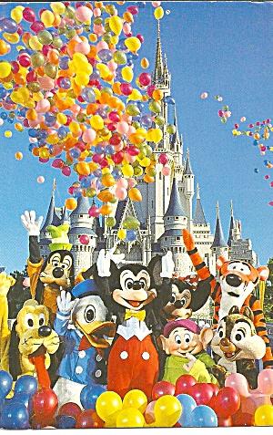 Walt Disney World Bunches of Bright Balloons cs8337 (Image1)