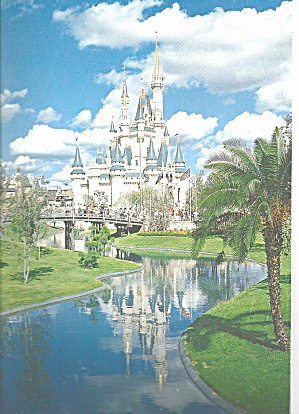 Walt Disney World Fairy Tale Castle Cs8339
