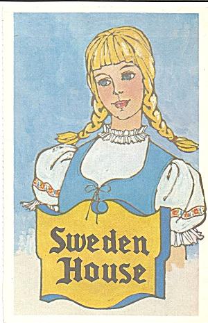 Sweden House Restaurant Postcard cs8340 (Image1)
