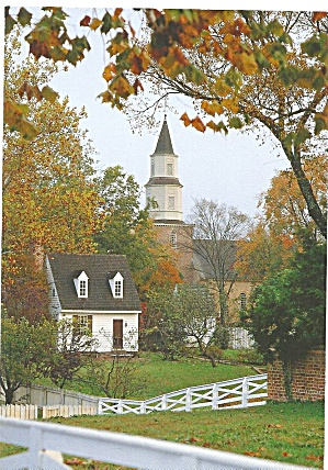Bruton ParishChurch, Williamsburg,Virginia (Image1)