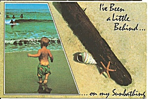 Little Boy on a Beach cs8354 (Image1)