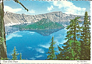 Wizard Island Crater Lake Oregon Cs8368