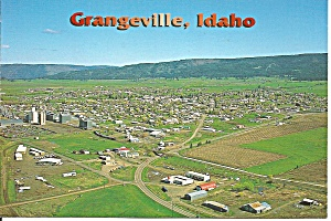 Aerial View of Grangeville, Idaho (Image1)