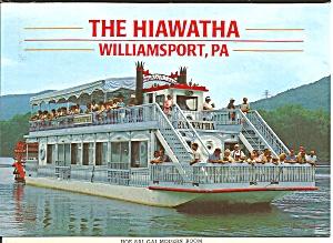 The Hiawatha Paddlewheeler at Williamsport Pennsylvania cs8393 (Image1)