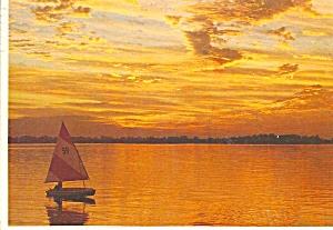 Sailboat at Sunset cs8395 (Image1)