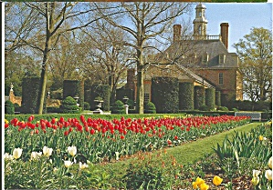 Governor s Palace Garden, Colonial Williamsburg (Image1)