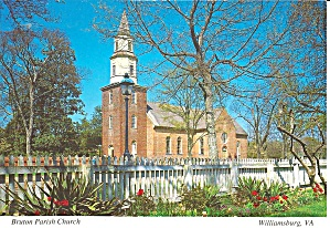 Bruton Parish Church, Colonial Williamsburg Exterior (Image1)