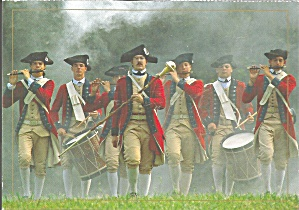 Fife and Drom Corps,Colonial Williamsburg (Image1)