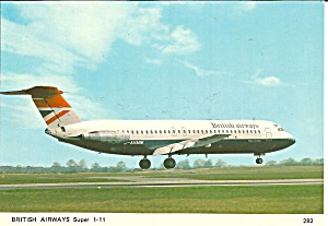 British Airwat Super BAC 1-11 cs8415 (Image1)