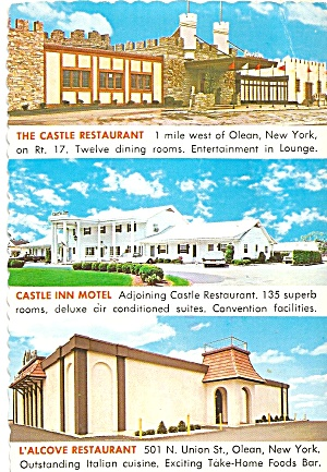 Olean New York Castle Inn And Restaurants Cs8444