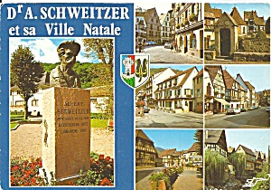 Dr. A. Schweitzer And His Ville Natale