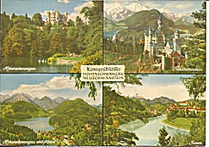 Castle along the Rhine Germany Postcard cs8456 (Image1)