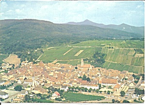 Riquewihr,alsace, France Aerial View