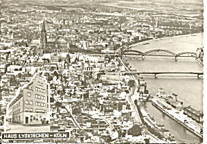 Cologne Germany Hotel Haus Lyskirchen Cs8499