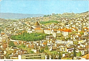Nazareth, Isreal Aerial View